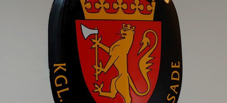 Besøg på Den Norske Ambassade i København